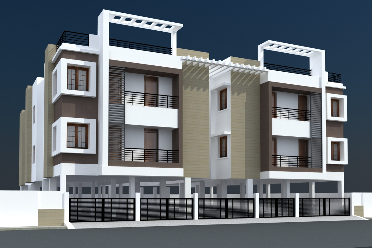 Modern house elevations of tamil nadu joy studio design for Home designs in tamilnadu