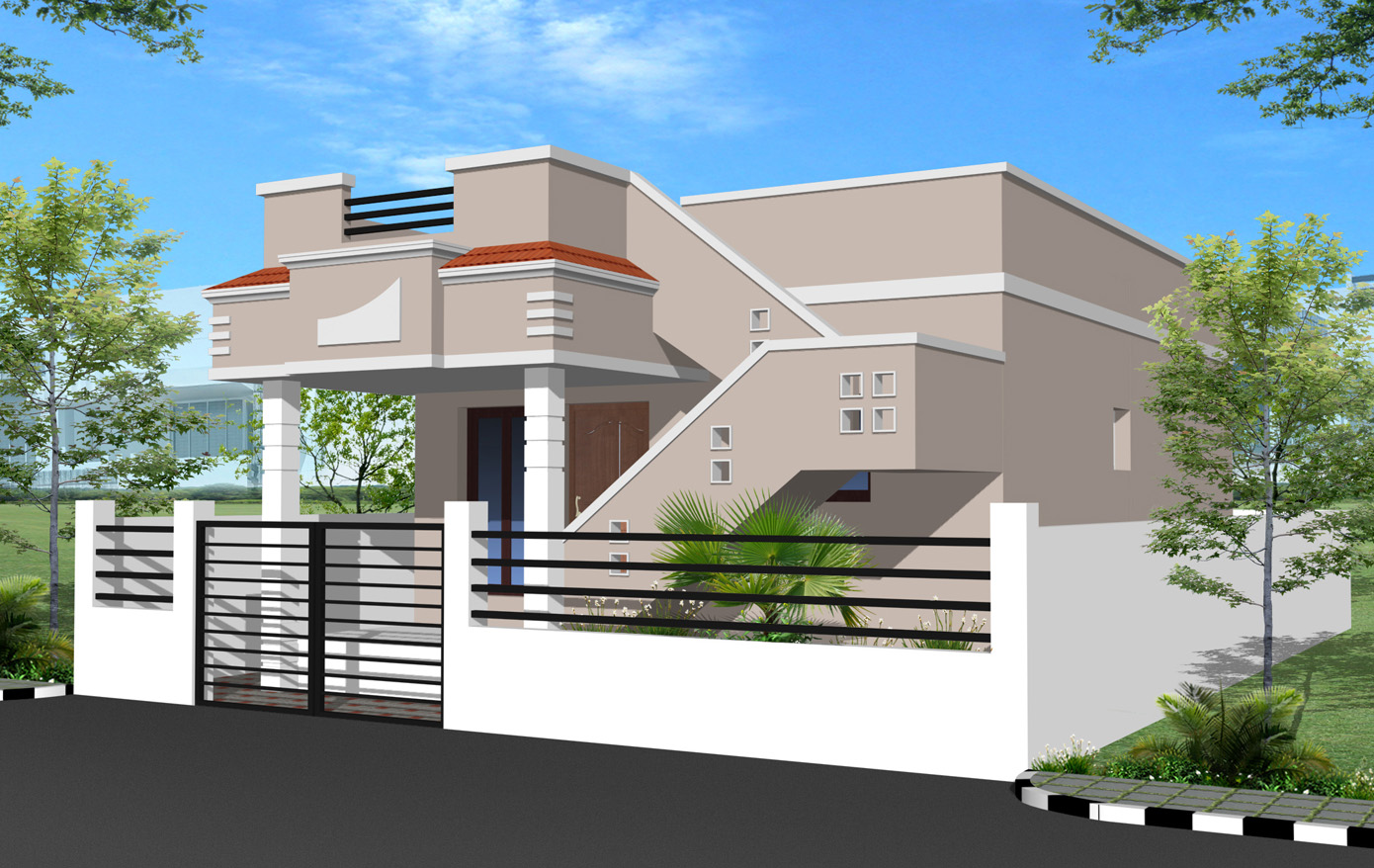 House Compound Wall Design | 2017 - 2018 Best Cars Reviews