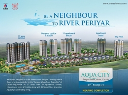 Few more apartments available in Aquacity-The Only World Class Waterfront Township in Cochin