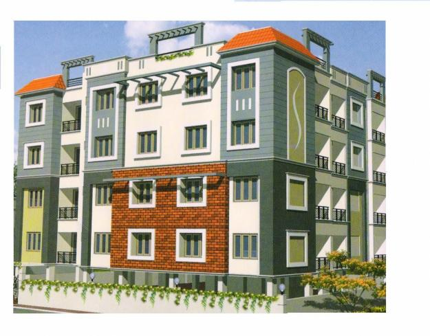 2bhk flat for rent at Nantoor