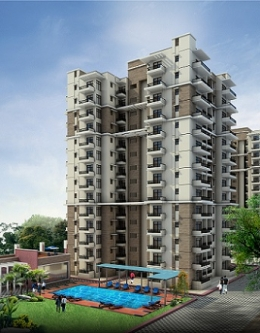 3BHK Multistorey Newly Built Residential Luxurious Apartment at VIP Road, Zirakpur