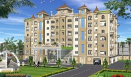 Ready To Move 3BHK Modern Multistorey Residential Newly Built Apartment at VIP Road, Zirakpur