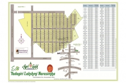Websqft -  Residential Land - Property for Sale - in 300/Yadagirigutta at Rs 299700