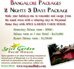 Farm house in Wayanad
