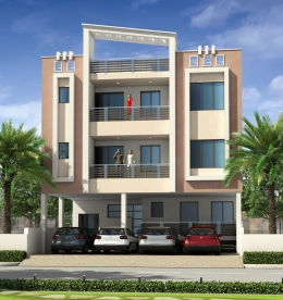 GANESHAM PRIME - 5 luxurious flats AT JAGATPURA , JAIPUR