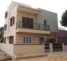 4 BHK Duplex House for Sale at Hegde Nagar, Bangalore