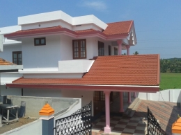 kakkanad infopark 8km 6.50 cent 2380sqft 4 bhk new house