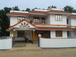 perumbavoor valayanchirangara 7 cent 275 sqft 4 bhk 58 Lac