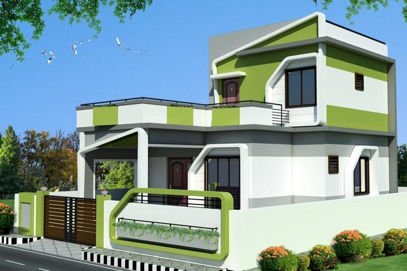 ... Duplex House Elevation | Joy Studio Design Gallery - Best Design
