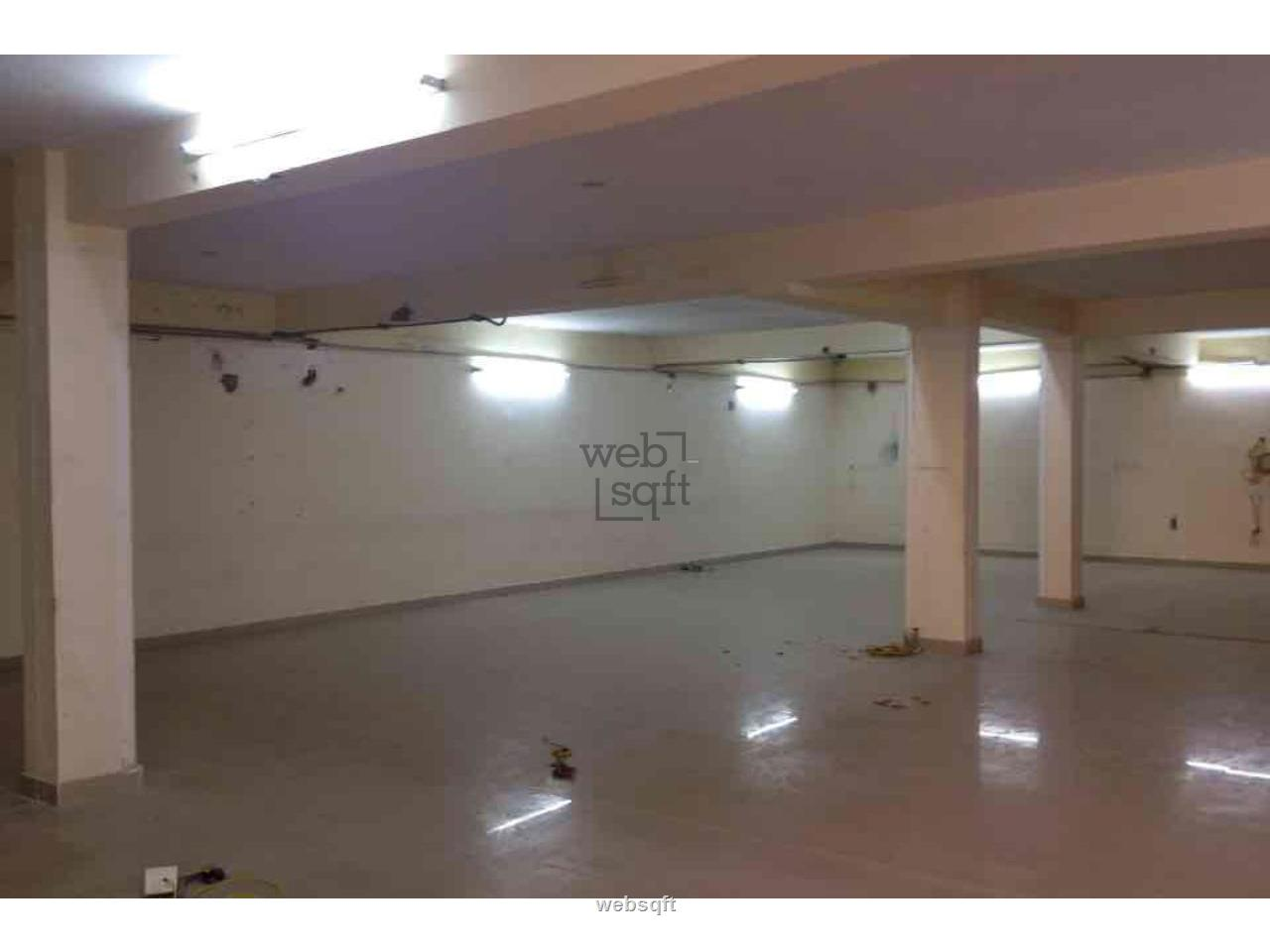 Websqft - Commercial Warehouse - Property for Rent - in 1600Sq-ft/Ashok Nagar at Rs 96000