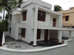 5.5 Cent WITH 2060sqft posh villa FOR SALE IN nettayam Thiruvananthapuram DIST.
