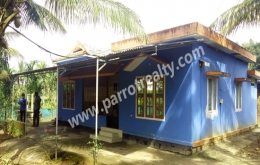 12cent land with 3bhk house for sale in bathery