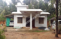 52cent land with 3bhk(1200sqft) house for sale in Cherukattoor.