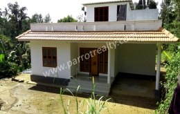 10cent land with 1500sqft house for sale in Moonanamkuzhi, Wayanad.