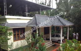 50cent land with 1600sqft house for sale in Dwaraka, Wayanad.