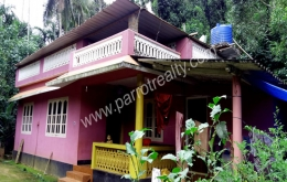 2acre  land with 3bhk house for sale near vaduvanchal, Wayanad.