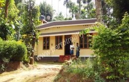 20cent land with  2bhk house for sale  in cherukattoor.Wayanad.