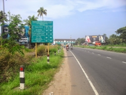 Land in Ernakulam with NH47 Frontage