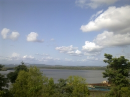 River view Land for Sale in Cortalim Goa