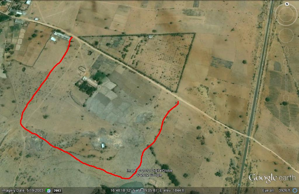 Land for sale in Hyderabad
