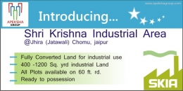 Industrial Land for sale in Jaipur (Shree Krishna Industrial Area)