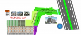 residential/commercial plot for sale at faizabad rd.