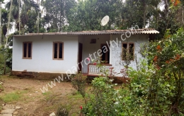 1.75acre land with small house for sale in near Erulam.wayanad