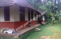 3acre land with small house for sale in Nadavayal.