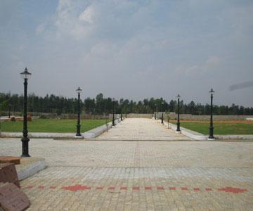 Land in bangalore