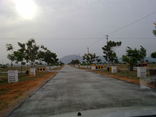 Land in chittoor