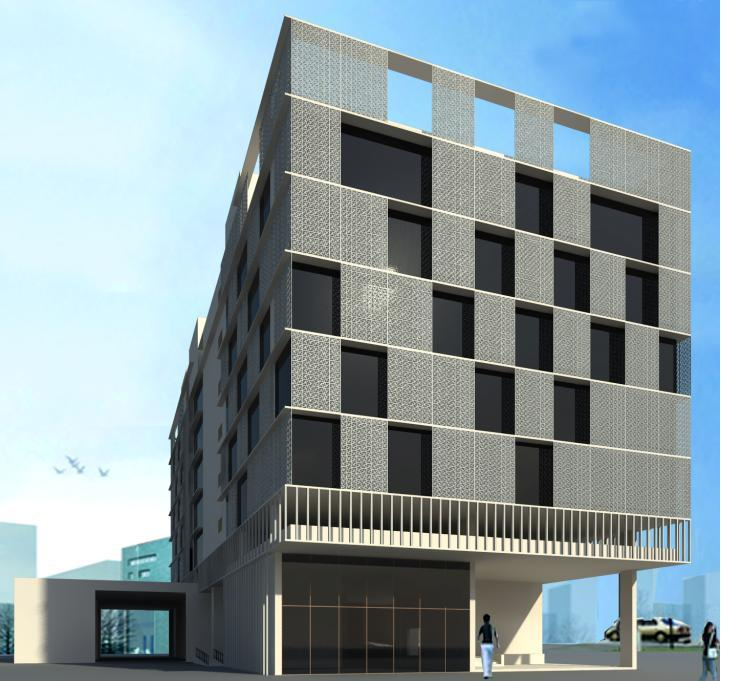 Shrachi Group, Ek Tower, Commercial office space in New Town