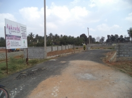North Facing residential plots for sale in hebbal