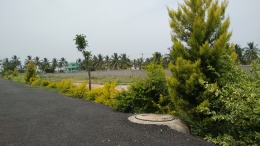 Residential land off thanisandra main road