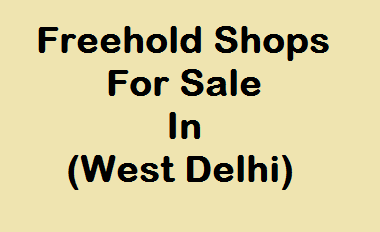 Shop for sale in Ramesh Nagar