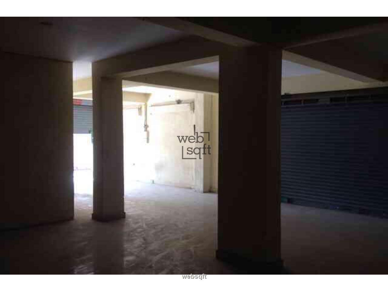 Websqft - Commercial Retail showroom shop - Property for Rent - in 2100Sq-ft/Nizampet at Rs 52500