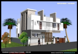 3 BHK independent villa with covered carparking
